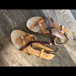 Blowfish crisscross Sandals
